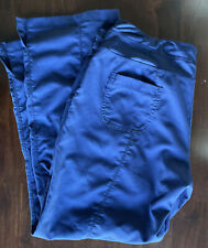 Greys Anatomy by Barco Active Ladies Size Large Petite Navy Scrub Pants Bottoms