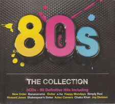 80's (Eighties) The Collection 3 CD Box Sealed 60 tracks New Order, Aha 2012