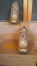 Ash High Top Trainers - Gold /Red Size 37 UK (4)