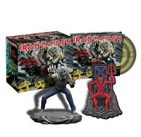 IRON MAIDEN Number Of The Beast Limited CD boxset SEALED With Figure and Patch