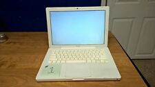"""Apple MacBook 13.3"""" Laptop - White (read carefully for parts only)"""