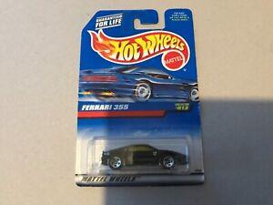 New hot wheels- 1997- black Ferrari 355