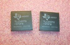 QTY (15) TLC34076-170FN TI PLCC-84 170 MHz VIDEO INTERFACE PALETTE NOS 1 TUBE