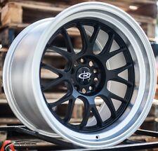 18X11 +20 Rota Mxr-R 5X114.3 Black Wheel Fit 300Zx 240Sx EVO 8 9 x Supra wrx sti