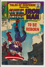Tales of Suspense #96 Marvel Comic 1967 Kirby Colan Art Captain America Iron Man
