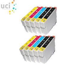 10 Cartuchos de tinta para Epson Stylus DX3800 Dx3850 DX4200 DX4250 DX4800 Dx4850