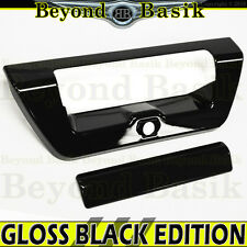 2015-2017 FORD F-150 F150 GLOSS BLACK Tailgate Handle COVER Door Overlay Trim