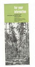 PAPUA NEW GUINEA 1967 Information BROCHURE