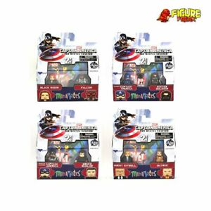 Marvel Minimates Series 55 Captain America Winter Soldier Movie Complete Set
