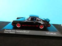 Porsche 911 Carrera R S 2.7 from MINICHAMPS 1:43 rd scale