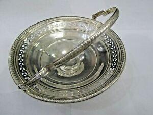Antique sterling silver Silver Basket