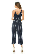 AX Paris Womens Jumpsuit Printed Culotte V Neck Sleeveless Romper Casual Party 14