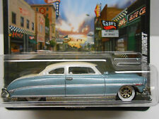 Hot Wheels 2011 Boulevard Series Custom '52 Hudson Hornet w/RRs