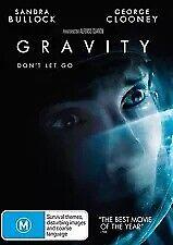 GRAVITY DVD - George Clooney, Sandra Bullock (Region 4) **BRAND NEW & SEALED**