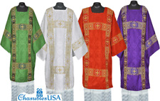 American Deacon Dalmatic St Andrews Vestment  Red Color