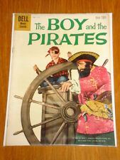 BOY AND THE PIRATES #1117 VG/FN (5.0) 1960 DELL MOVIE CLASSIC*