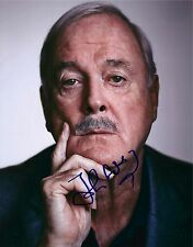 John Cleese signed 8x10 photo - Monty Phyton, 007