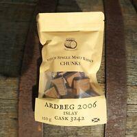 ARDBEG 2006 Single Malt Whisky Barrel Chunks Home Brew Spirits BBQ Oak Flavour