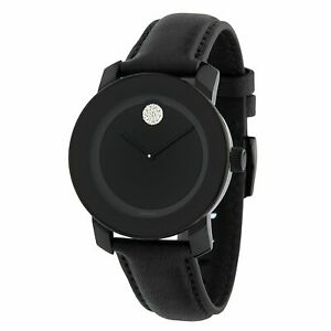 Movado 3600483 Women's Bold Black Quartz Watch