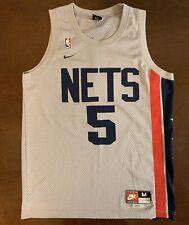 Rare Vintage Nike Rewind Throwback NBA New Jersey Nets Jason Kidd Jersey