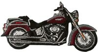 Patch écusson blason patche Motard moto harley thermocollant