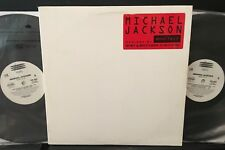 """2 12"""" promo MICHAEL JACKSON / WHO IS IT  Remixes MOBY Epic E2S 4686 plays NM"""