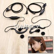 Clip Ear Headset/Earpiece Mic For Garmin GPS/Radio Rino 530 530HCx  610 655