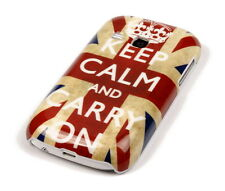 Schutzhülle f Samsung Galaxy Young S6310 Tasche Case Cover keep calm England