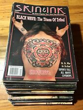 Skin And Ink Tattoo Magazine Large Lot of *29* Issues