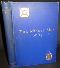 WWI NY Ninth Coast Artillery Corps History. Minute Men of '17  1922 1stEd Inscbd