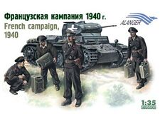 Alanger 35509 French Campaign 1940 1/35 Plastic Scale Model kit