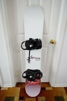 SILENCE SNOWBOARD SIZE 151 CM WITH LARGE 5150 BINDINGS