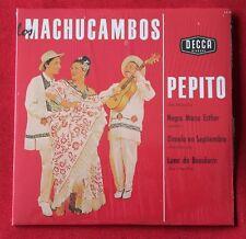 Los Machucambos, pepito, CD single 4 titres