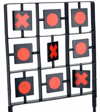 Spinning Noughts & Crosses 2 Player Shooting Target Game Auto Reset Rifle Airgun