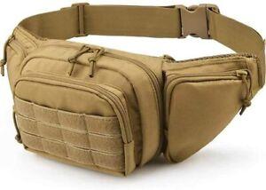 Tactical Fanny pack Gun Holster Portable Handgun Concealed Gun Carry Holster