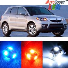 12 x Premium Xenon White LED Lights Interior Package Kit for Acura RDX 2007-2012