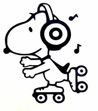 Snoopy vinyl car Decal / Sticker