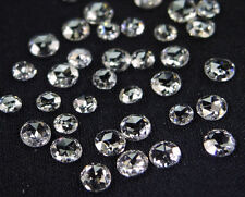 Natural Loose Diamond Round Rose Cut G White VS2 VS1 Clarity 2.00 MM 5 Pcs J9
