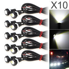 10pcs 9W Eagle Eye White LED 18MM 5730 SMD Car Fog Light DRL Reverse Backup Lamp