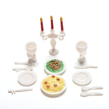 13Stück Spielhaus Spielzeug Für Kinder Kinder Candlelight Dinner Props  Barbies W