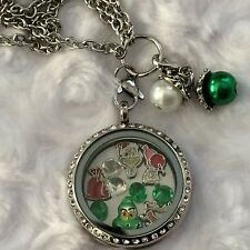 How The Grinch Stole Christmas  Inspired Memory Locket Necklace Dr Seuss