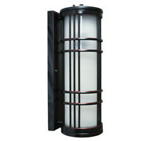 European Outdoor Balcony Single Light Wall Lamp Glass + Aluminum vintage Style