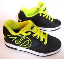 HEELYS PROPEL 2.0 Black Neon Yellow Skate Shoes Size Youth 3