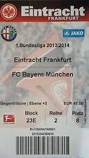 TICKET 2013/14 Eintracht Frankfurt - Bayern München