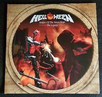 Helloween-Keeper Of The Seven Keys Legacy 2 LP Clear Vinyl 2019 Nuclear Blast