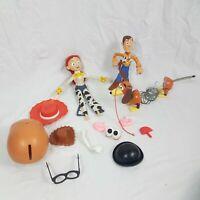 Disney Pixar Toy Story Bundle Jessie Woody Mr Potato Head Slinky Dog