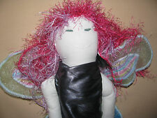 Cloth Fairy Doll Hand Made One Of Kind