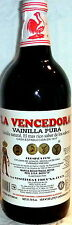 La Vencedora Pure Mexican Vanilla Extract Glass Bottle 31oz -1L SHIPS WORLDWIDE!