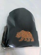 Mens Chicano Lowrider Hat  Brown Aztec Bear Custom Design Black Winter Beanie