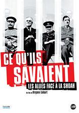 CE QU'ILS SAVAIENT - LES ALLIES FACE A LA SHOAH - DVD